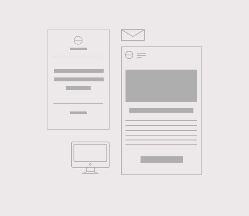 Web Design, social media and blog post template design