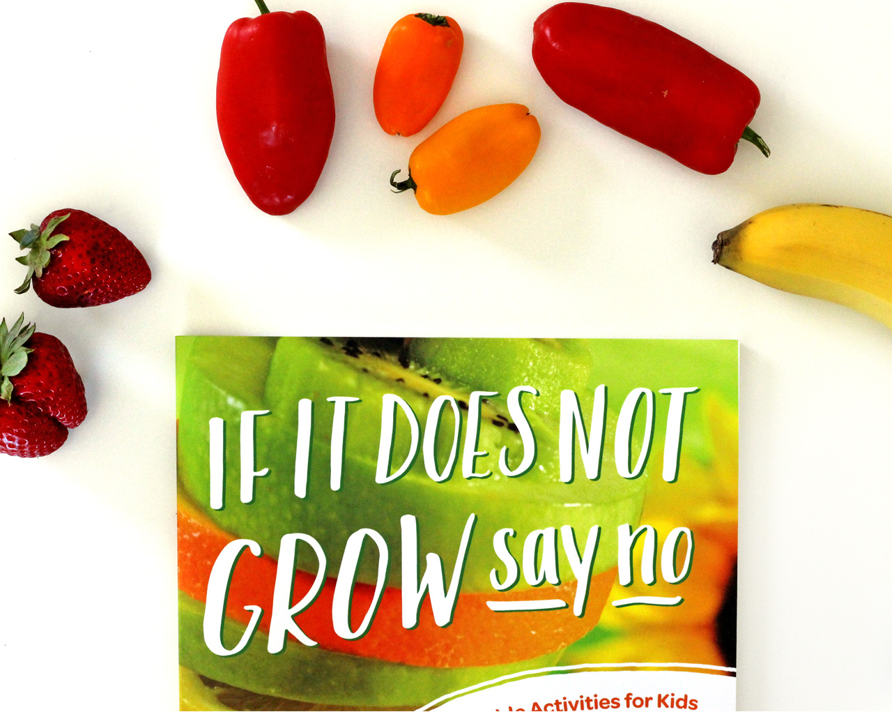 if it does not grow book cover design