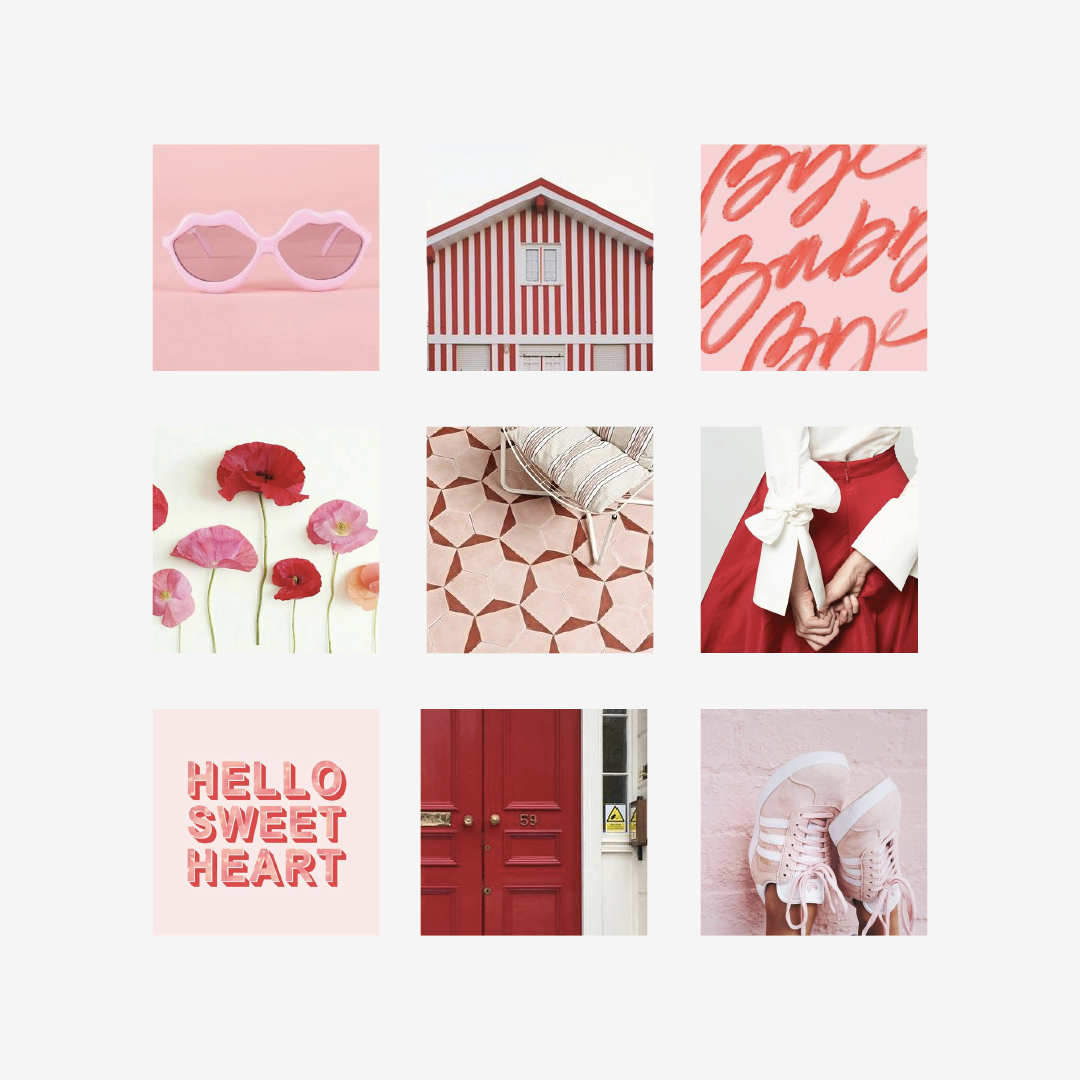valentine's day moodboard fun
