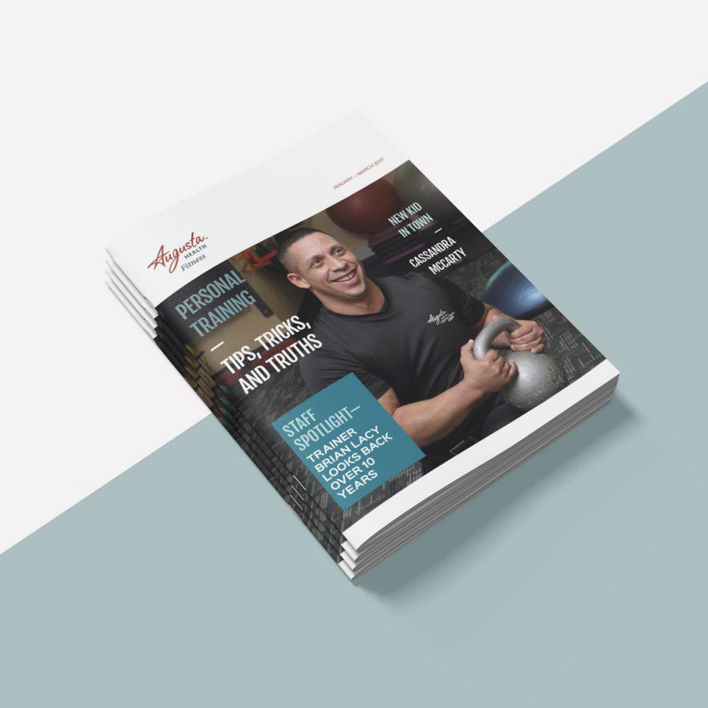 Fitness Center newsletter design