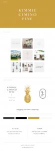 Kimmie Cimino Fine Realtor Branding by Smith Design House